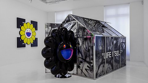 a4fcf6e3012 Takashi Murakami / Virgil Abloh: from wearable art to exposable ...
